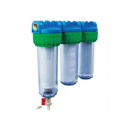 Trojni vodni filter EKO TRIPLEX SAM MAG FOS, samočistilni za vodovodno vodo
